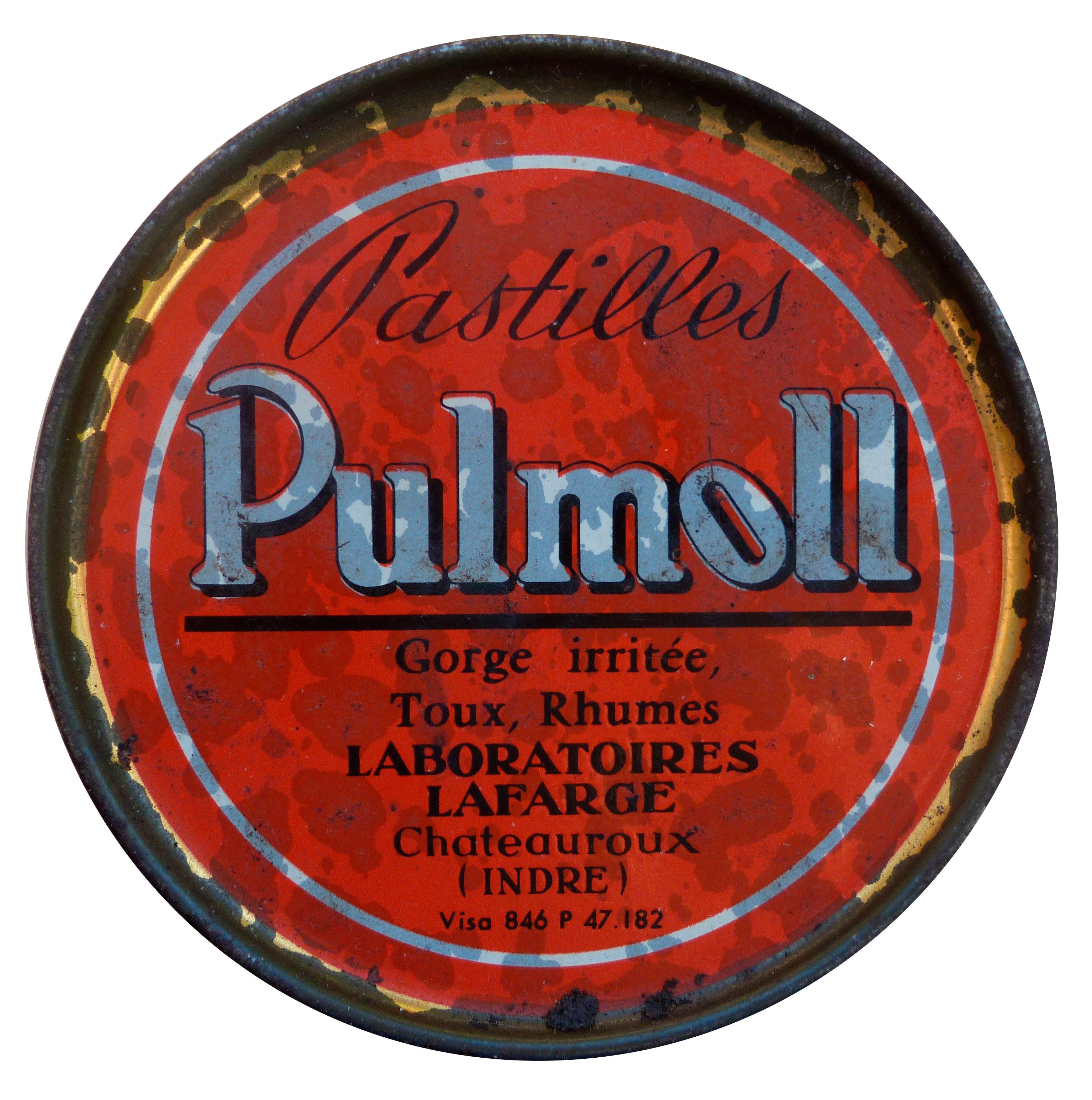 Pastilles Pulmoll - Boîte Retro