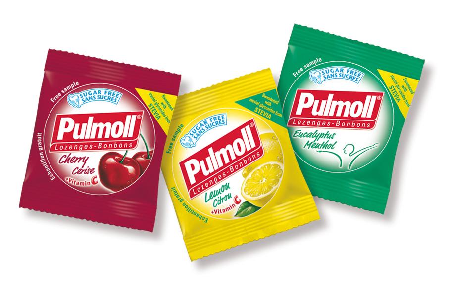Pulmoll samples. international